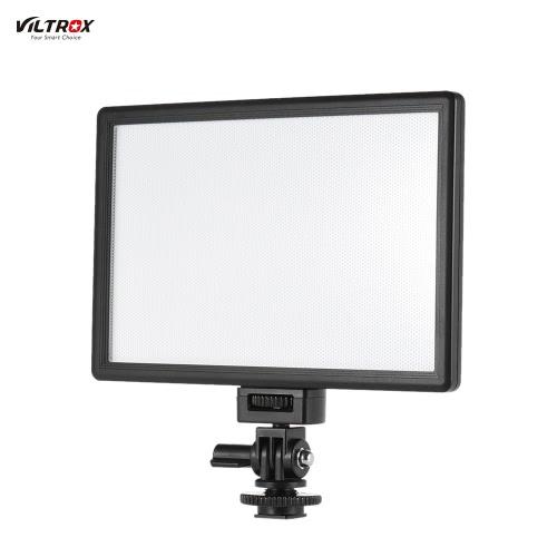 Viltrox L116Tプロフェッショナル超薄型LEDビデオライト写真はライト調整明るさとデュアル色温度を入力します。キヤノン、ニコン、ソニー、パナソニックのデジタル一眼レフカメラビデオカメラ用の最大輝度987LM 3300K-5600K CRI95 +