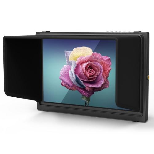 10.1インチポータブルスリムHDカメラトップモニター放送品質