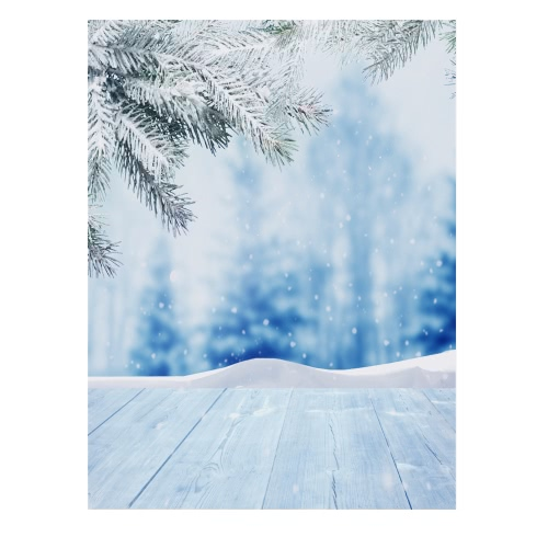 1.5 * 2m/4.9 * 6.5ft Photography Background Backdrop Computer Printed Frozen Ice Castle Pattern for Children Kid Baby Newborn Pet Photo Studio Portrait Shooting