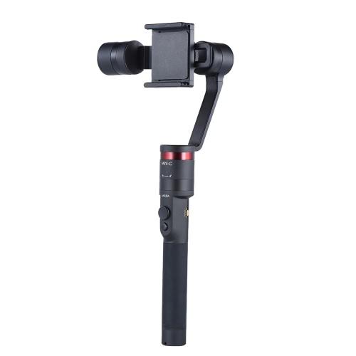 Moza Mini-C 3 Axis Handheld Wearable Smartphone Gimbal stabilisateur Modes multiples Prise en charge de Bluetooth pour iPhone APP contrôle 7 / 7plus / 6 / 6plus pour Samsung S7 pour Huawei P9 pour Sony Z5