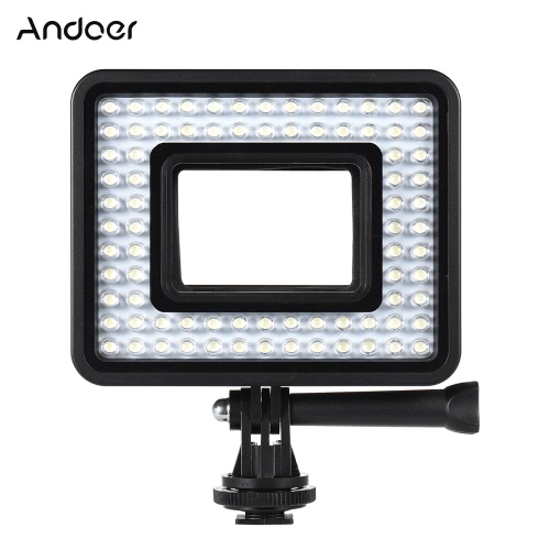 Andoer Action Camera LED Ring Light