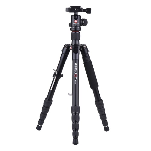 KINGJOY K009 Trépied d'appareil photo portable de 135 cm / 4,4ft