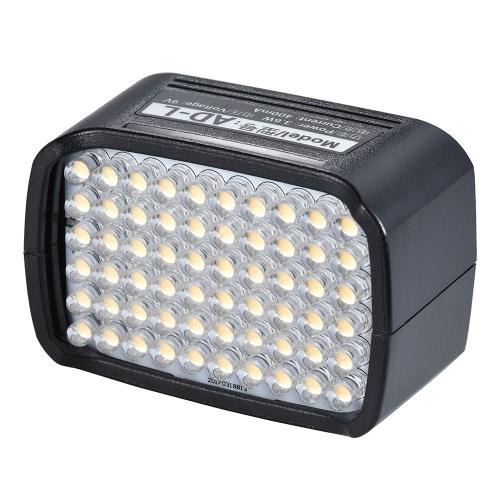 AD-L LED Flash Light Head avec 60 ampoules LED CRI 95+ 5600K Dédié pour Godox AD200 Portable Outdoor Pocket Flash