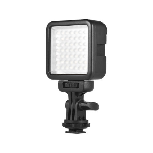 Andoer W49S Mini Intermable regulable LED luz de relleno de luz de video