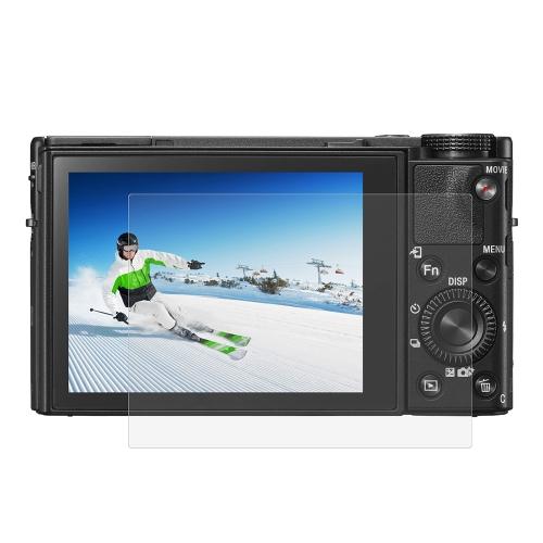 PULUZ Camera Screen Folia ochronna Polycarbonate Protect Film Anti-scratch Hardness Szkło hartowane Screen Protector do Canon Sony Nikon Panasonic FinePix Olympus Akcesoria do aparatów cyfrowych do Sony RX100 / A7M2 / A7R / A7R2