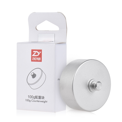 Zhiyun 100g Contrepoids pour Zhiyun Crane 2 V2 Crane-M 3 Axe Gimbal Stabilisateur à Main