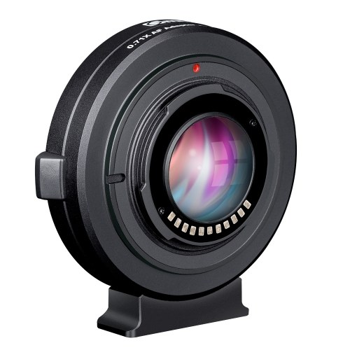 Commlite AEF-MFT Booster Auto Focus AF Lens Mount Adapter
