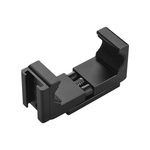 Q12 Regolabile Clip per telefono in lega di alluminio Clip 1/4