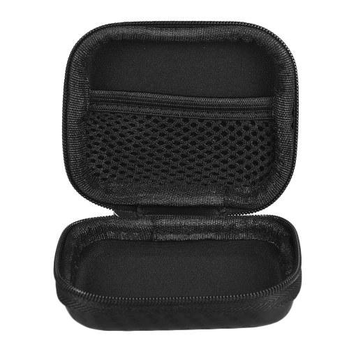 Mini Portable PU Camera Case Bag Water-resistant Storage for GoPro Hero 6/5/4/3+ Xiaomi Yi 4K + Lite Action Camera