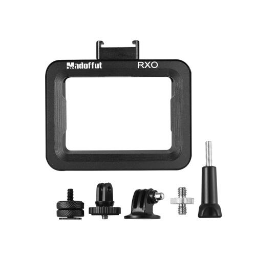Madoffut MRO-1880 CNC Aluminiumlegierung Fotografie Kamera Käfig Rig Halterung mit Cold Shoe Mount für Sony RX0 Kamera