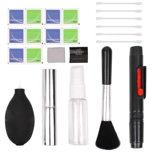 Grundlagen Reinigungsset für DSLR-Kameras und empfindliches Elektronikzubehör Reinigungsset Objektiv / Sensor / LCD-Bildschirm reinigen
