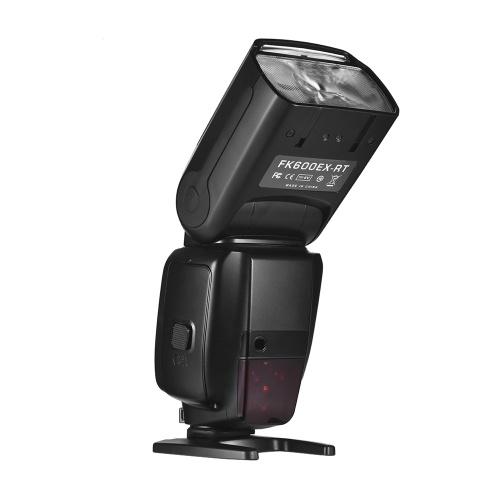 FK600EX-RT GN60 E-TTL Flash Speedlite Flash intégré 2.4G Radio sans fil maître esclave 1/8000 HSS pour appareils photo Canon EOS
