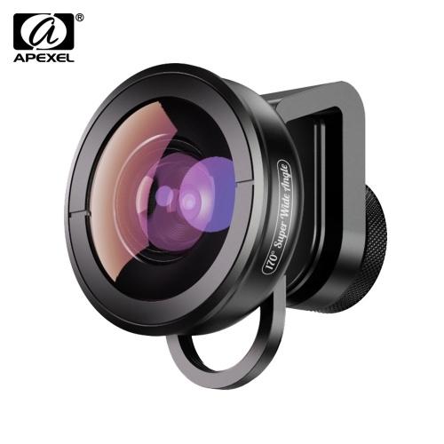 APEXEL APL-HD5SW Objectif super grand-angle 170 ° pour Smartphone à lentille / à lentille unique pour iPhone Pixel Samsung Galaxy Smartphones Huawei