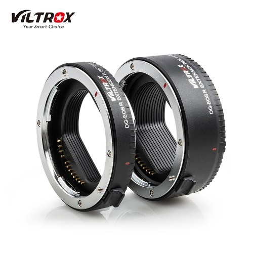 Viltrox DG-EOSR Portable Electronic Macro Extension Tube Adapter Ring Set