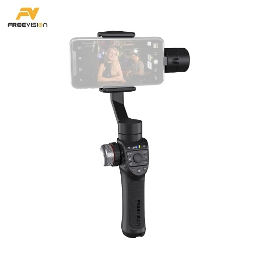 Freevision VILTA-M Pro VT30 3-Axis Handheld Smartphone Gimbal Stabilizer with Double Wheel