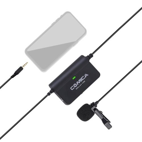 CoMica CVM-SIG.LAV V05 Multifunctional Flexible Single Lavalier Microphone