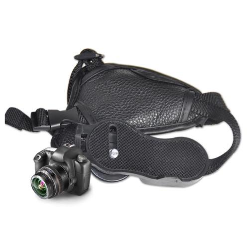 Remplacement de la poignée de l'appareil photo de la dragonne en cuir