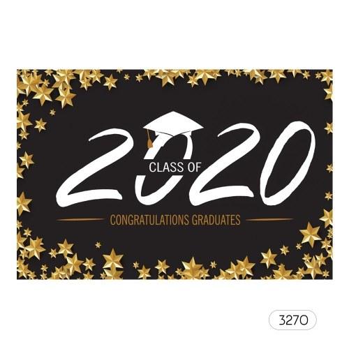 7 * 5ft professioneller Hintergrund Der Hintergrund der Abschlussfotografie der Klasse 2020