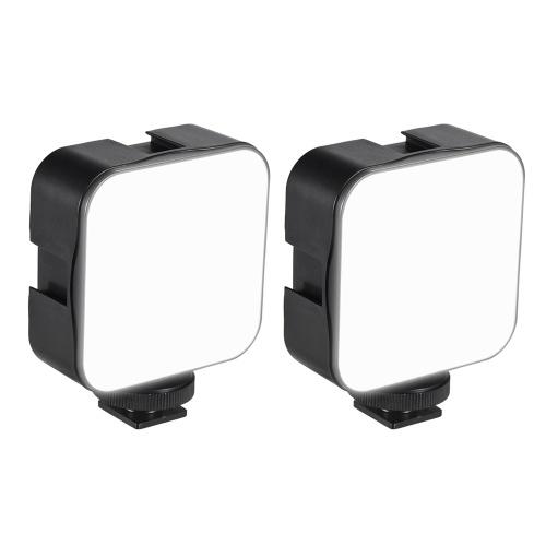 Andoer Mini LED Videolicht Fotografie Einfülllampe 6500K Dimmbar 5W