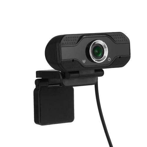 USB-Webcam 1080p HD 30fps Desktop-Clip-On-PC-Laptop-Kamera