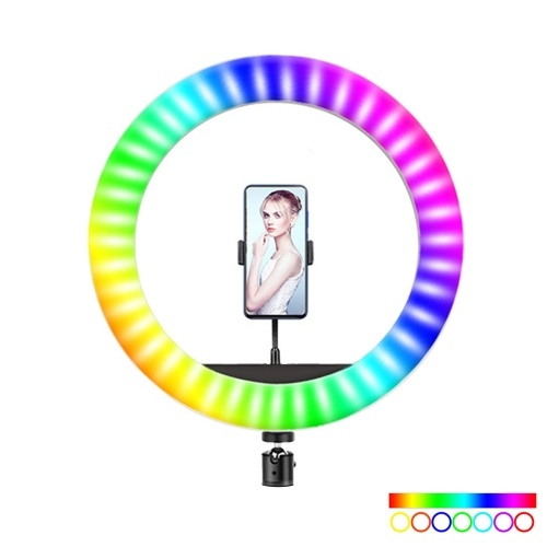 RGB LED Selfie Round Light USB RingLight