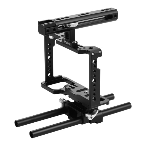 Andoer Professional Video Accessories Full Frame Camera Cage Kit