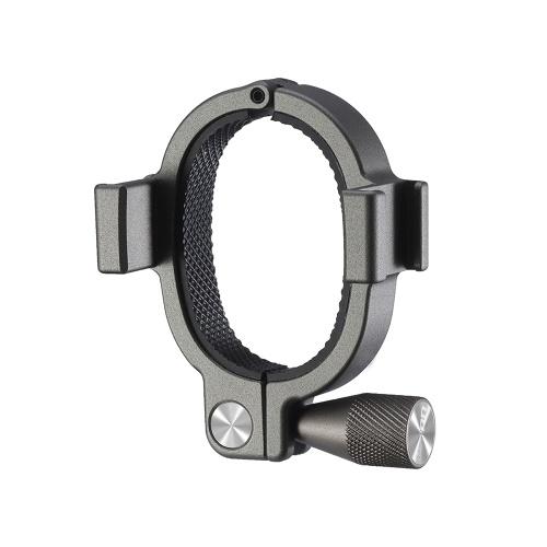 UURig R037 Adaptateur d'anneau de support d'extension pour stabilisateur de smartphone avec deux supports de chaussures froides