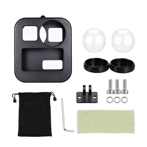 Action Camera Gabbia protettiva Custodia Shell Custodia in metallo resistente all'acqua Compatibile con GoPro Max Sports Camera