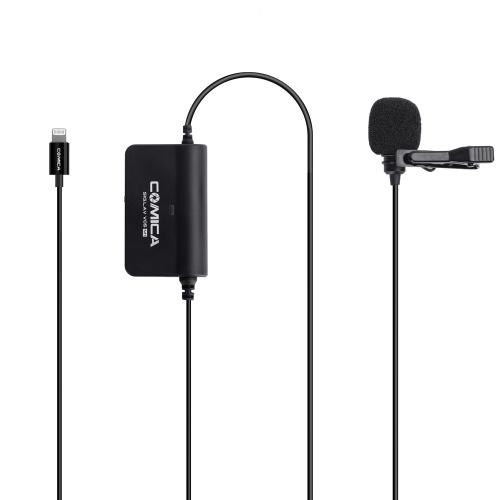 Comica CVM-V05 MI Microphone Lavalier Unique Multifonctionnel Micro pour Smartphone