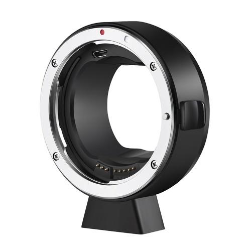 ATLSON EF-L Kameraobjektiv Adapterring Autofokus EXIF-Getriebe Anti-Shaking