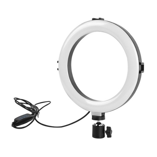 Luz de relleno de belleza con anillo de luz LED de 20 cm / 8 pulgadas