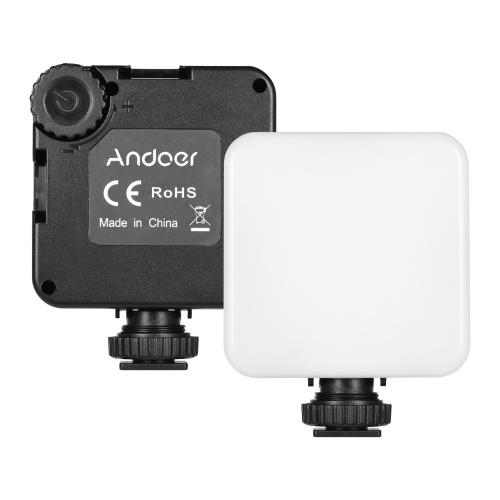 Andoer LED 68 PRO RGB LED Videolampe