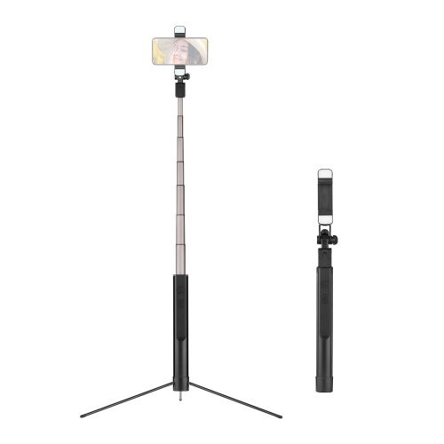 All in One Multifunktions-Handstabilisator Integriertes Selfie-Stick-Stativ