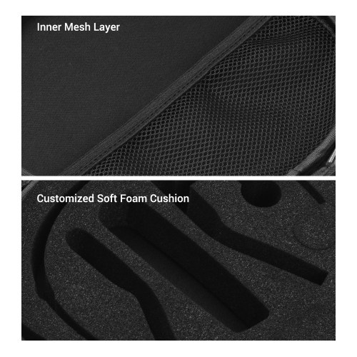 ORDRO Protective Case Bag Holder Storage with Inner Foam Replacement for ORDRO EP7/EP6 Camera