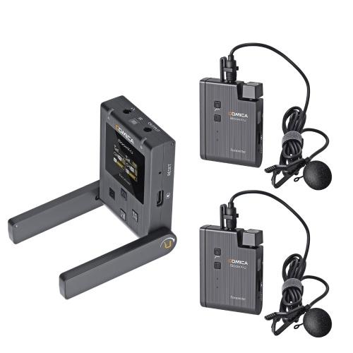 COMICA BoomX-U U2 UHF Wireless Lavalier Microphone System