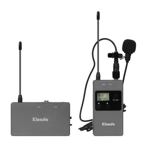 Kicada KW-M01F Wireless Lavalier Microphone