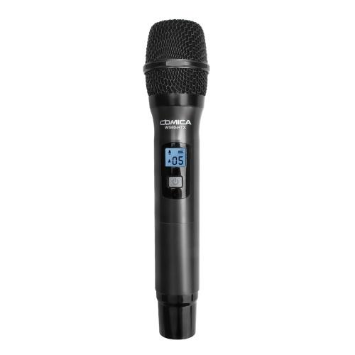 Transmissor de microfone sem fio multifuncional de mão COMICA WS60-HTX