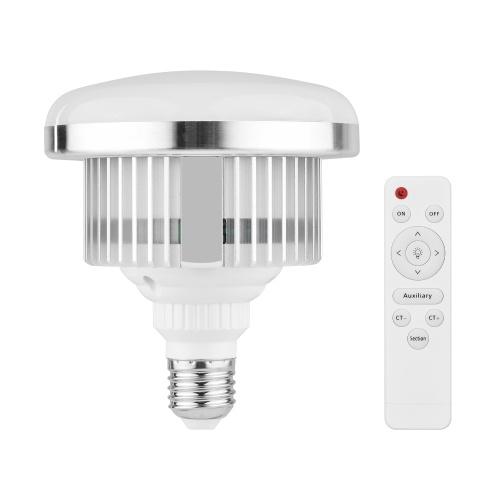 45W E27 LED Bulb lâmpada de vídeo bicolor 3000K-6000K