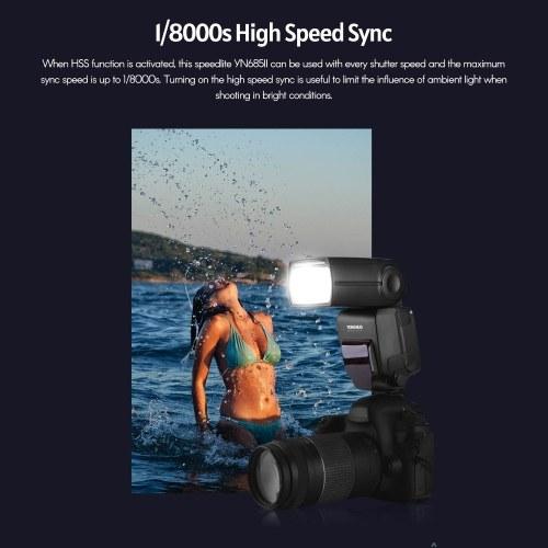 YONGNUO YN685II Camera Flash Speedlite ETTL Speedlight