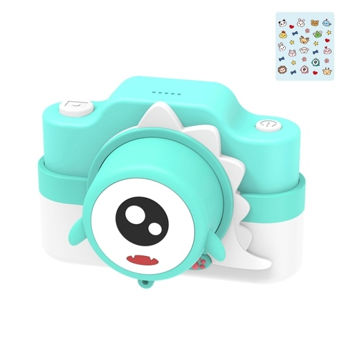C2 Kids Camera Digital Video Cameras for Toddler Christmas Birthday Gifts for Girls with 32MP Dual Lens 32GB TF Card Support WIFI Transmissin