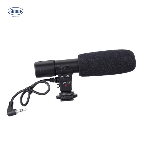 Sidande Mic-01 Stereo Camcorder Recording Microphone