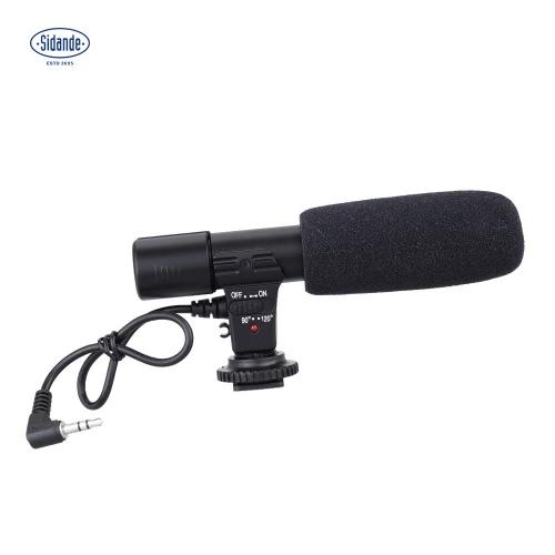Sidande Mic-01 Mikrofon do nagrywania kamer stereofonicznych