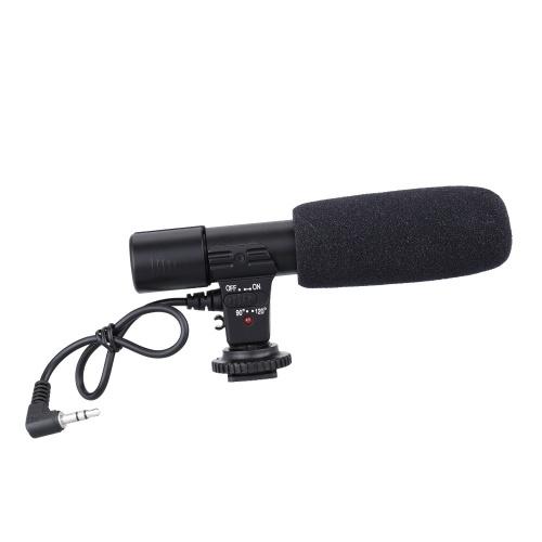 Sidande Mic-01 Stereo Camcorder Aufnahme Mikrofon