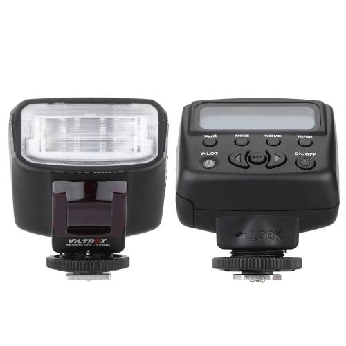 Viltrox JY-610 C ミニ 1.5 インチ液晶 E-TTL カメラにスレーブ ストロボ フラッシュ ライト キヤノン 750D 760 D 5 DR 5DRS 60 D 70 700 d 5 3 デジタル一眼レフ カメラ