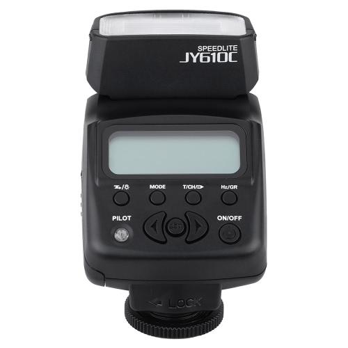 Viltrox JY - 610C Mini 1,5 po LCD E-TTL sur l'appareil esclave Speedlite Flash lumière