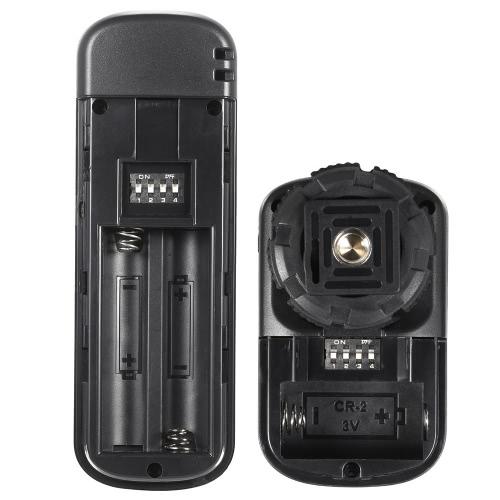 YouPro YP-860 DC2 2,4 G drahtlose Fernbedienung Shutter Release Sender Empfänger 16 Kanäle für Nikon D5000 D750 D7000 D600 D610 D7100 D7200 D5500 D3300 D3200 D3100 D5300 D5200 D5300 DSLR-Kamera