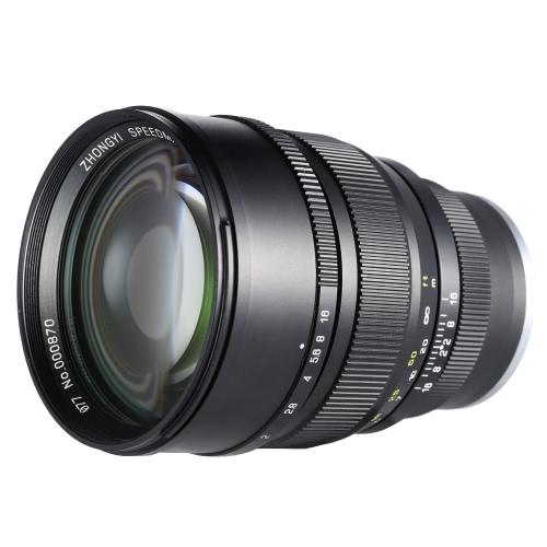 Zhong Yi Optics 85mm F1.2 135 Full Frame Fixed Focal Long Lens for Sony E Mount SLR Cameras