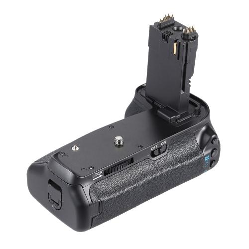 Este Pack de bateria multi Power é usado para Canon 70 D 80 câmera só, tem as mesmas funções que o original grip BG-E14. Ele armazena até dois packs de bateria LP-E6 ou seis baterias AA, oferecendo tempo tiro dobro do comprimento. w.t.c w.t.c w.t.c característica: w.t.c. o uso de uma ou duas baterias de Li-ion LP-E6 ou seis pilhas AA/LR6. w.t.c equipado com um botão do obturador vertical-aperto, etc., para assegurar o tiro da mesma forma como aperto horizontal. w.t.c botão AE-L/AF-L, principal e sub comando mostradores para tirar fotografias na orientação de