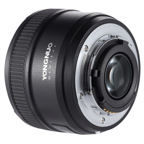 YONGNUO YN50mm F1.8 Large Aperture AF Auto Focus FX DX Full Frame Lens for Nikon D3821