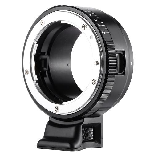 VILTROX NF-NEX Mount Anel Adaptador para Nikon G / F / AI / S / D Lens para Sony E Mount Camera A7 / A7R / NEX-5 / NEX-3 / NEX-5N / NEX-C3 / NEX-5R / NEX- F3 / NEX-6 / NEX-7 / NEX-VG10 / VG20 / VG30